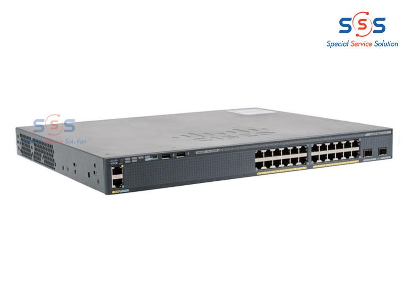 Thiết bị chuyển mạch Cisco WS-C2960X-24TS-L   Image 1