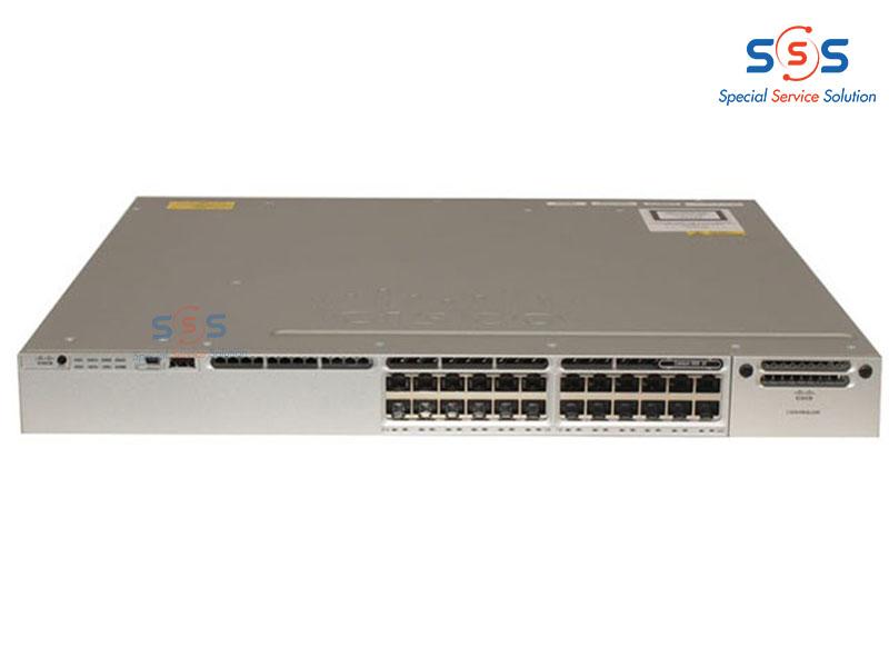 Thiết bị chuyển mạch Switch CISCO WS-C3850-24XU-L   Image 1