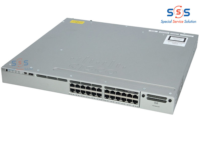 Thiết bị chuyển mạch Switch CISCO WS-C3850-24XU-L   Image 2